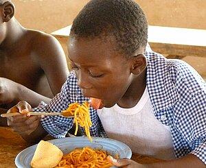 Ticket-Repas au Congo