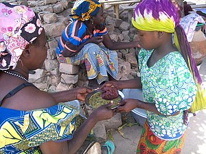 A Kelo, combattre la malnutrition des enfants