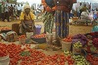 Acheter les denrées des repas sur le marché local pour développer l'activité.
