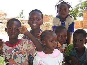 Les enfants de Boulmiougou